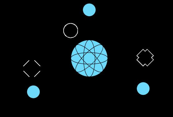 Network-Design flow clipart